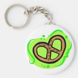 Pretzel Keychain