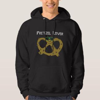 Pretzel Lover Black T-Shirt