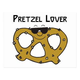 Pretzel Lover Gift Postcard