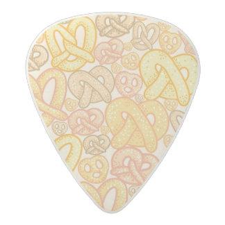 Pretzel Pattern Acetal Guitar Pick
