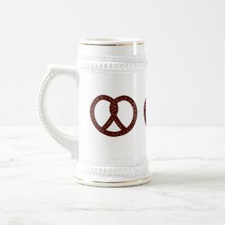 Pretzel Pattern - Beer & Pretzels Beer Stein