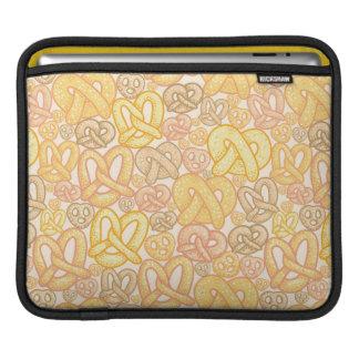 Pretzel Pattern iPad Sleeve