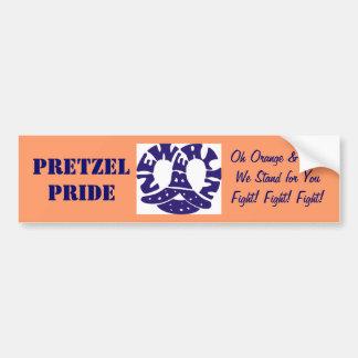Pretzel Pride Bumper Sticker