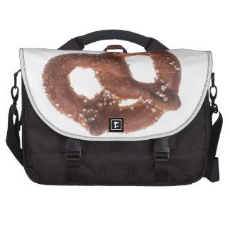 Pretzel salado bolsas para ordenador