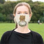 Pretzel Squirrel face mask