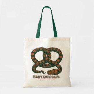 Pretzelcoatl II Tote Bag