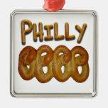 Pretzeles de Philly Adorno Para Reyes