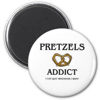 Pretzels Addict Magnet