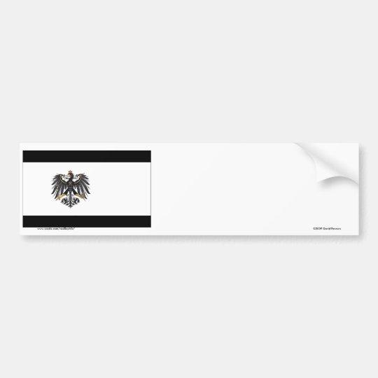 Preussen (1892-1918) Prussia Flag Bumper Sticker
