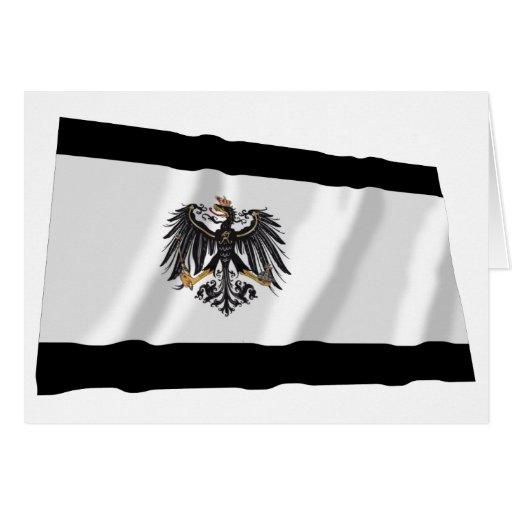 Preussen (1892-1918) Prussia Flag Greeting Card