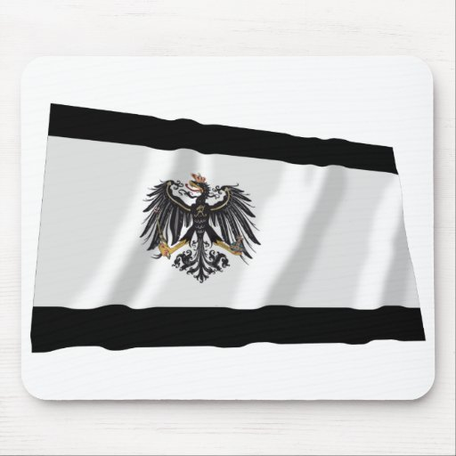 Preussen (1892-1918) Prussia Flag Mouse Pads