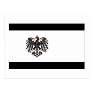 Preussen (1892-1918) Prussia Flag Postcard
