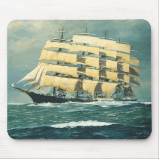 Preussen, 5 masted barque 1902 mouse pad