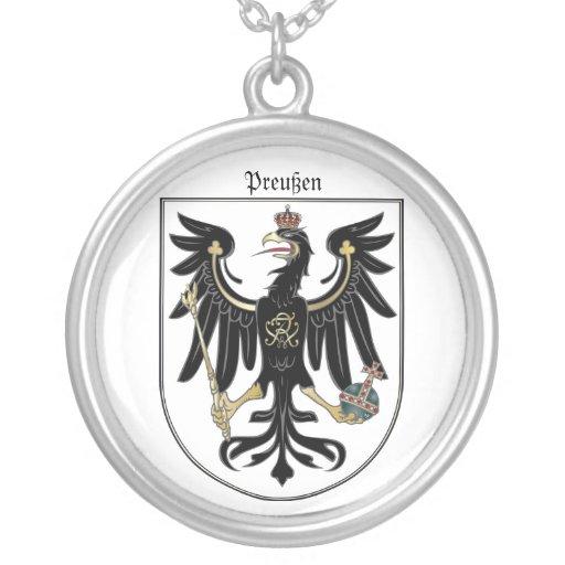 Preußen Adler Round Pendant Necklace