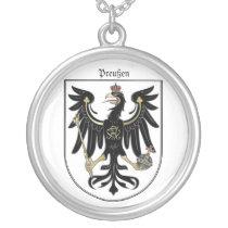 Preußen Adler Silver Plated Necklace