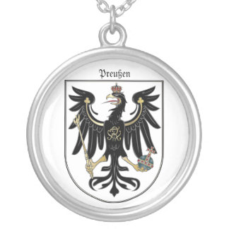 Preußen Adler Silver Plated Necklace