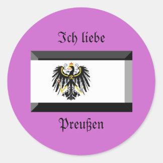 Preussen Flag Gem Sticker