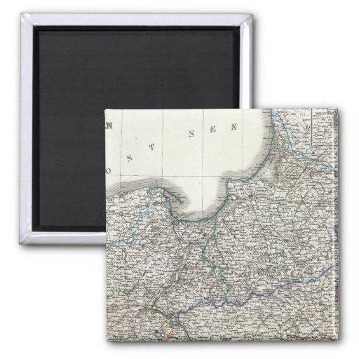Preussen, Posen, Polen 2 Inch Square Magnet