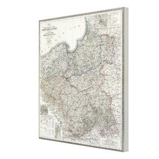 Preussen, Posen, Polen Canvas Print