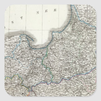 Preussen, Posen, Polen Square Sticker