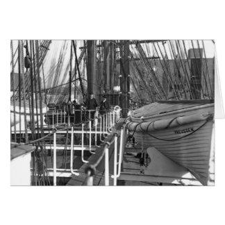 Preussen's Deck Greeting Card