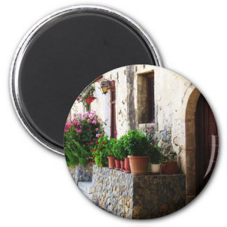 Preveli Monastery, Crete Rethymnon Greece 2 Inch Round Magnet