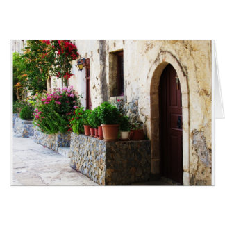 Preveli Monastery, Crete Rethymnon Greece Card