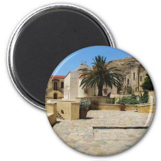Preveli Monastery located in  Crete, Greece 2 Inch Round Magnet