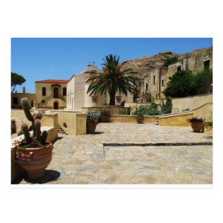 Preveli Monastery located in  Crete, Greece Postcard