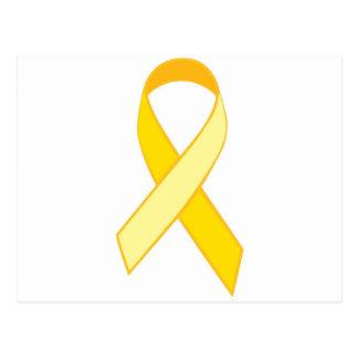 Prevención de Suice - cinta amarilla Tarjetas Postales