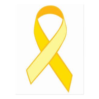 Prevención de Suice - cinta amarilla Postales