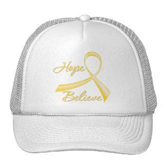 Prevención del suicidio - la esperanza cree gorras