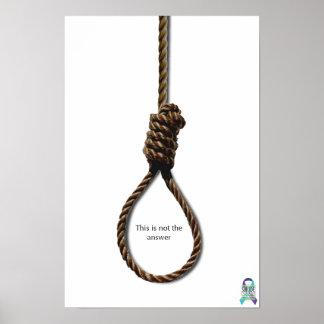 Prevención del suicidio poster