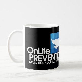 """""""Prevención"""" Ed. limpio de OnLife Tazas De Café"""