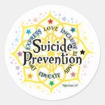 Prevención Lotus del suicidio Etiquetas