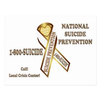 Prevenga el POSTER del suicidio Postales