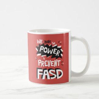 Prevenga FASD - Tenemos el poder Taza Clásica
