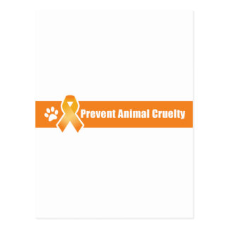 Prevenga la crueldad animal tarjetas postales
