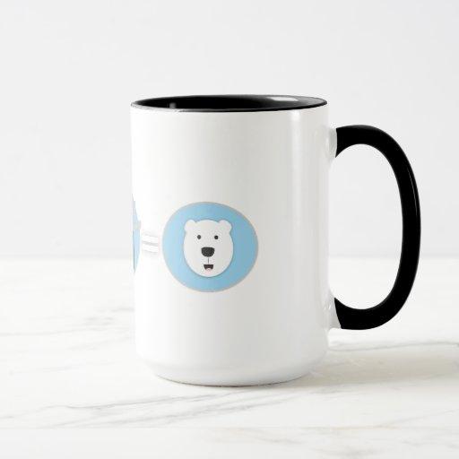 ¡Prevenga la taza del oso polar del calentamiento