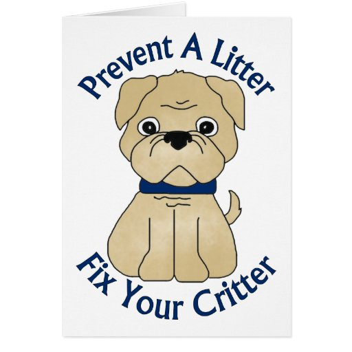 Prevent A Litter Fix Your Critter Tees, Gifts Card