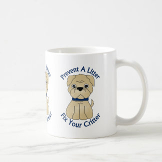 Prevent A Litter Fix Your Critter Tees, Gifts Classic White Coffee Mug