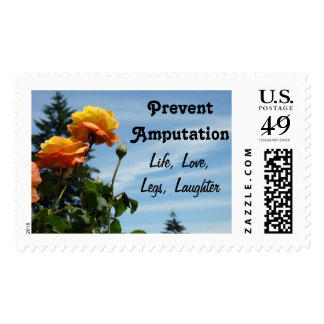 Prevent Amputation postage stamps Life Love Legs
