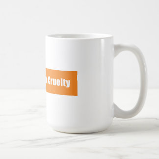 Prevent Animal Cruelty Coffee Mugs