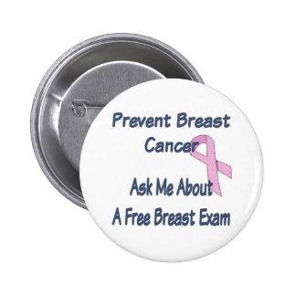 Prevent Breast Cancer Pinback Button