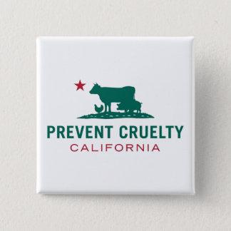 Prevent Cruelty CA Square Button