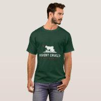 Prevent Cruelty CA Unisex T-shirt-Green (Custom) T-Shirt