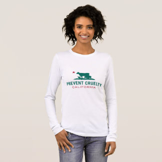 Prevent Cruelty CA Women's Long T-shirt (Custom)