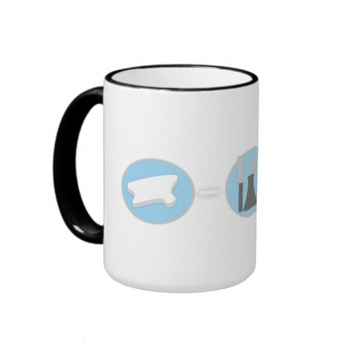 Prevent Global Warming Polar Bear Mug!