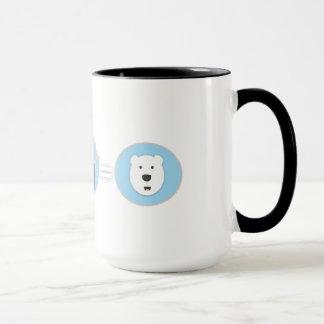 Prevent Global Warming Polar Bear Mug! Mug