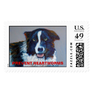 Prevent Heartworms Postage
